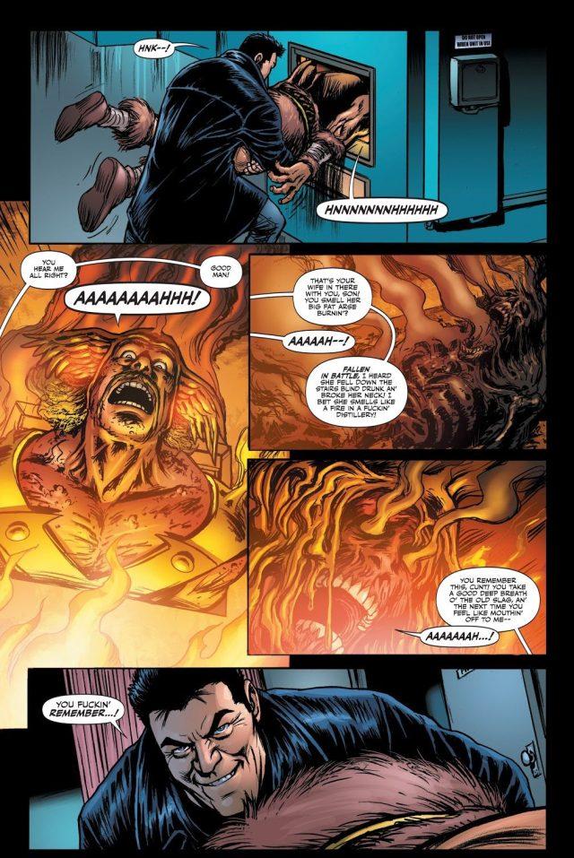 Billy Butcher Tortures Vikor