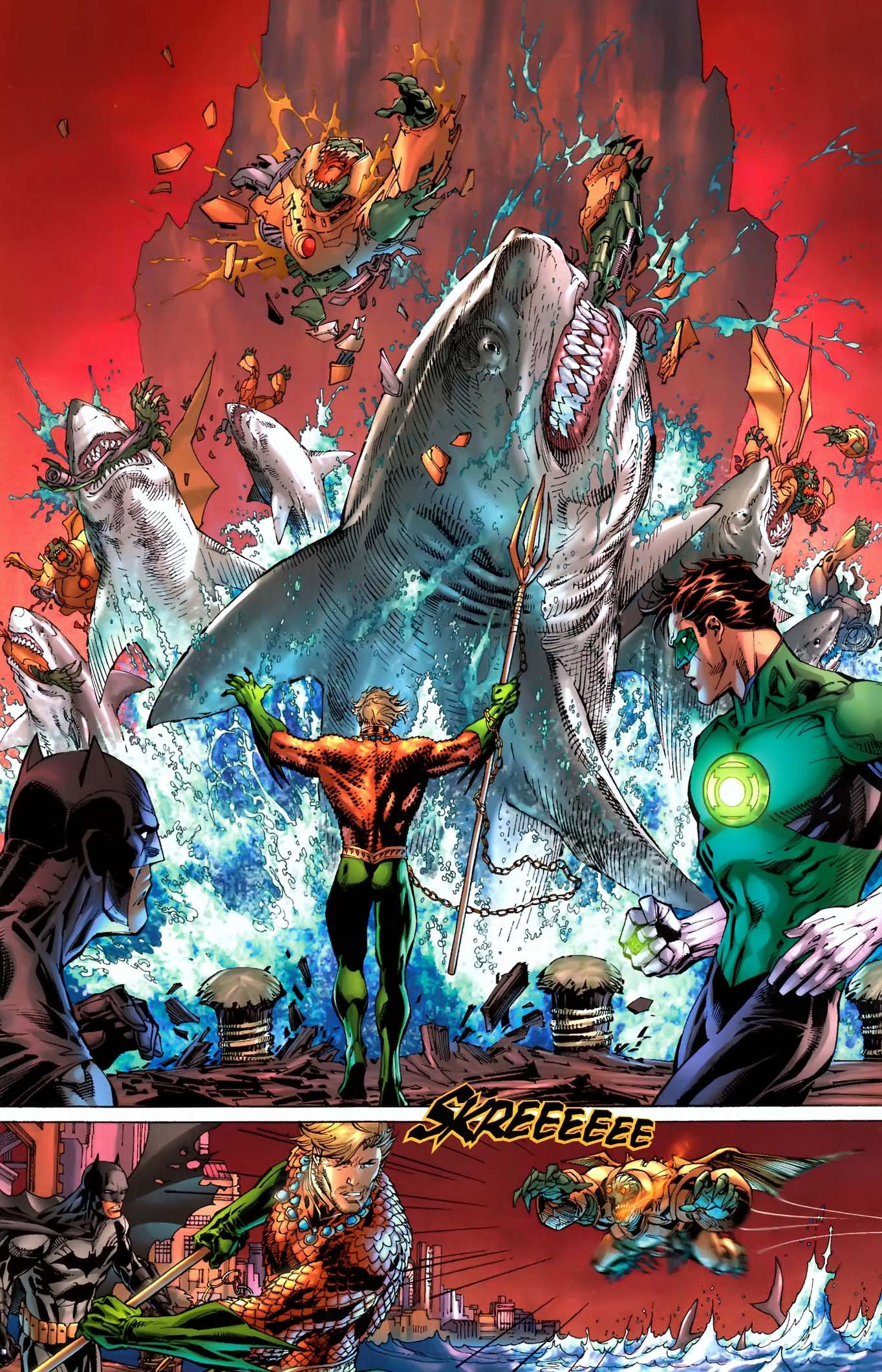 Swimming Wallpaper Quotes What Aquaman Can Do Comicnewbies