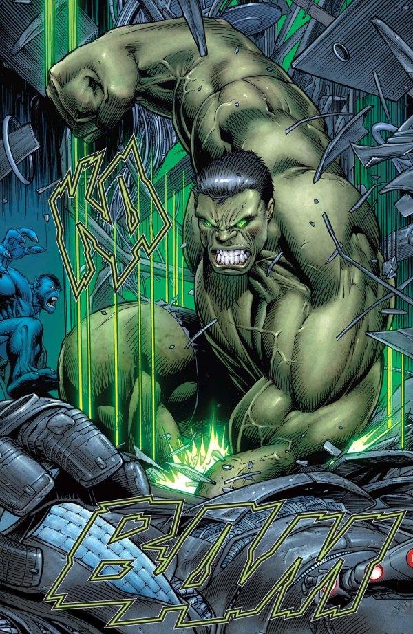 Marvel Incredible Hulk Comic Art