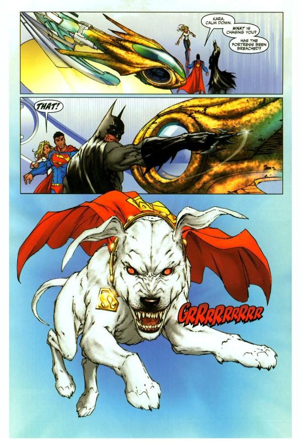 Hulk With Girl Wallpaper Supergirl Is Afraid Of Krypto Comicnewbies