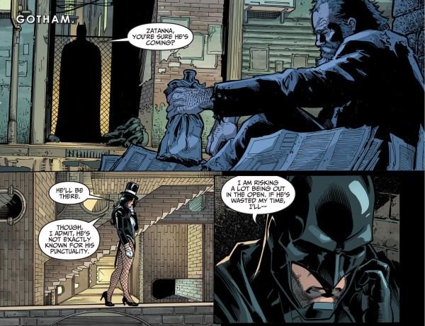 Batman Meets John Constantine And Chaz Comicnewbies