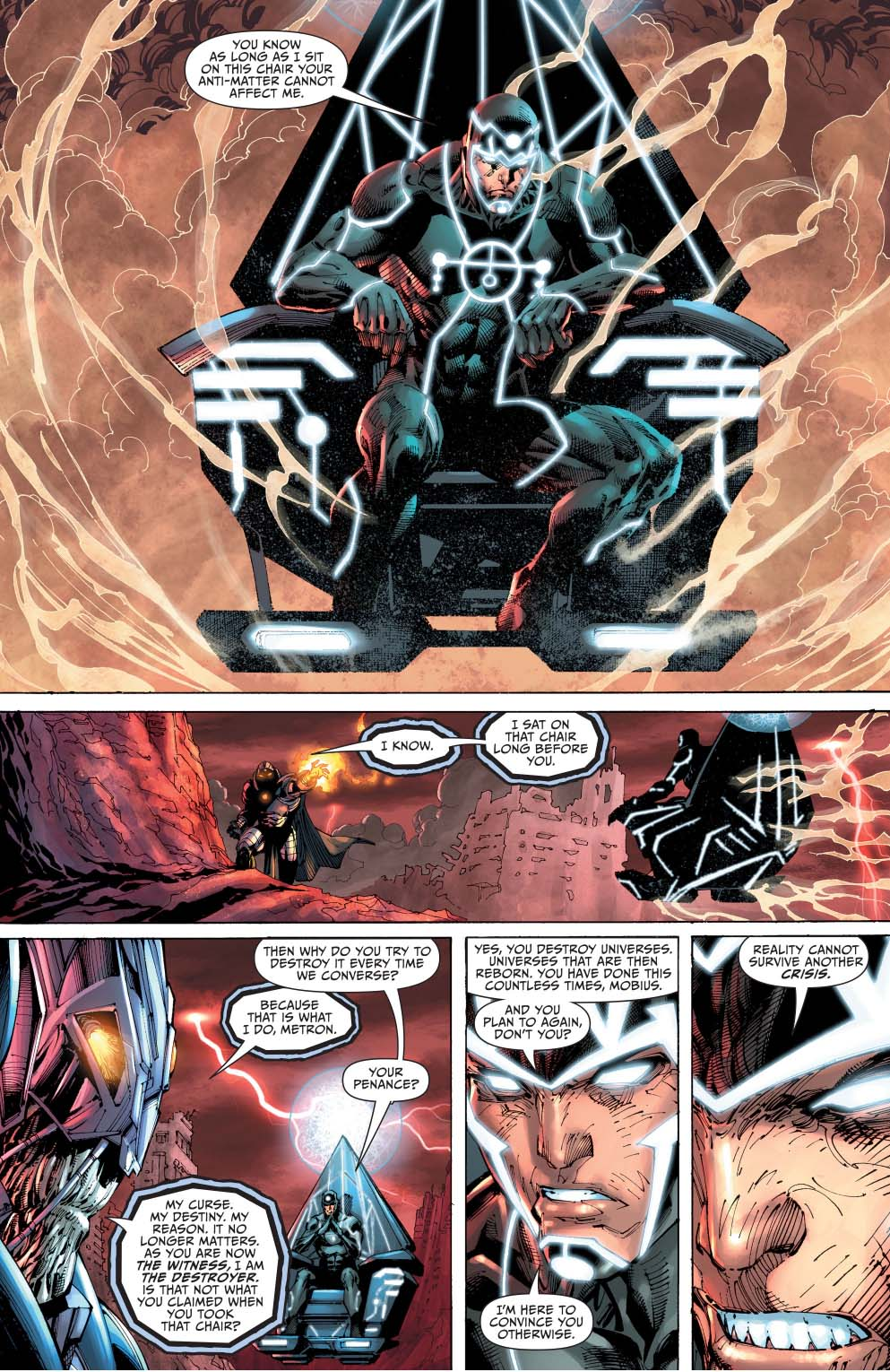 What The AntiMonitor Wants  Comicnewbies