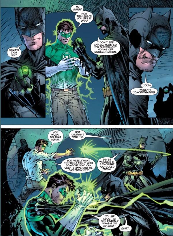 Batman Green Lantern Ring Anytime Comicnewbies