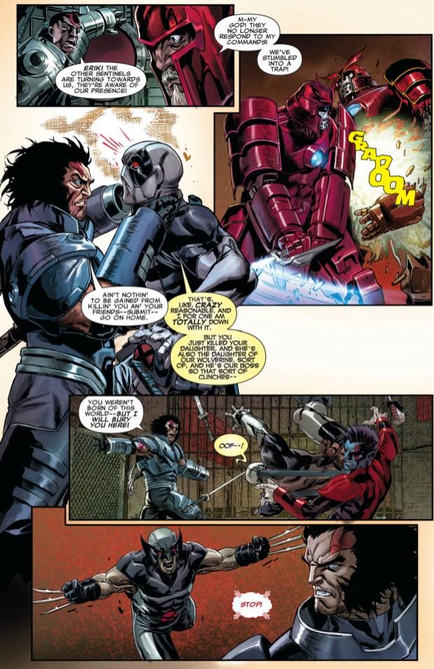 X Force And Age Of Apocalypse X Men VS The Black Legion