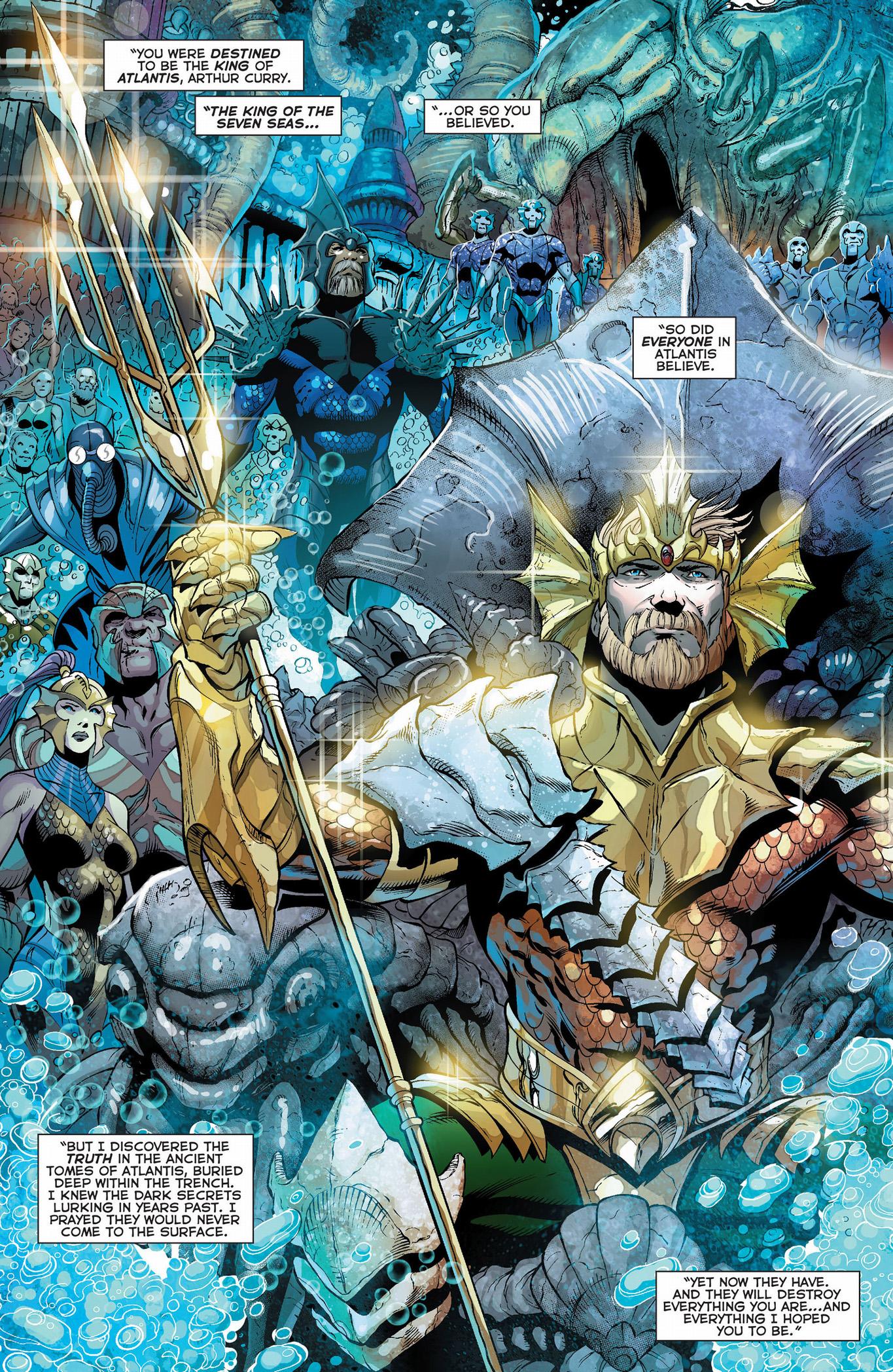Aquaman King Of The Seven Seas  Comicnewbies