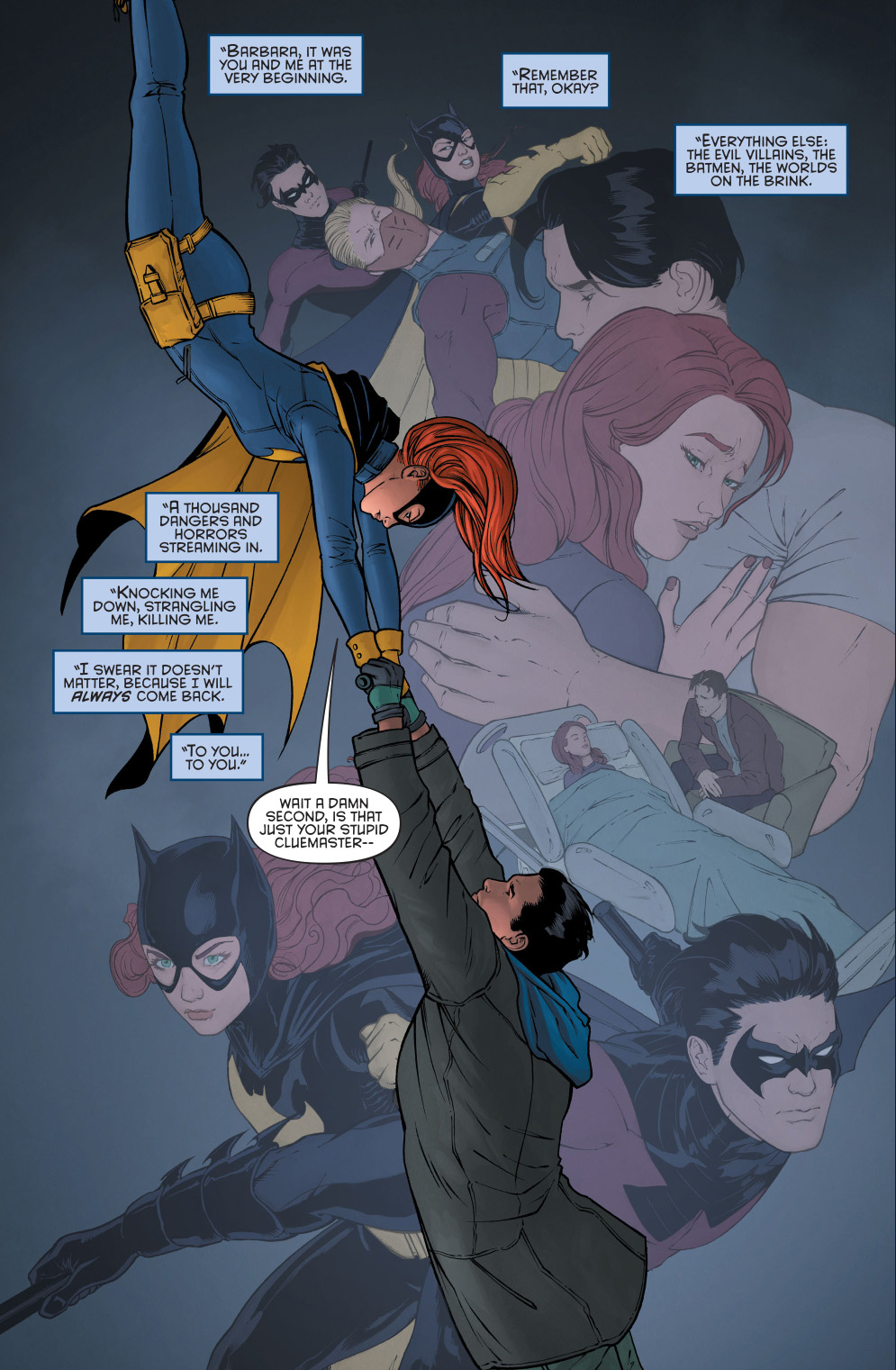 Nightwing Reveals His Fake Death To Batgirl Comicnewbies