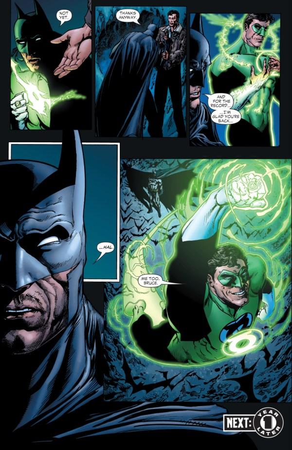 Batman Wears Green Lantern Ring Comicnewbies
