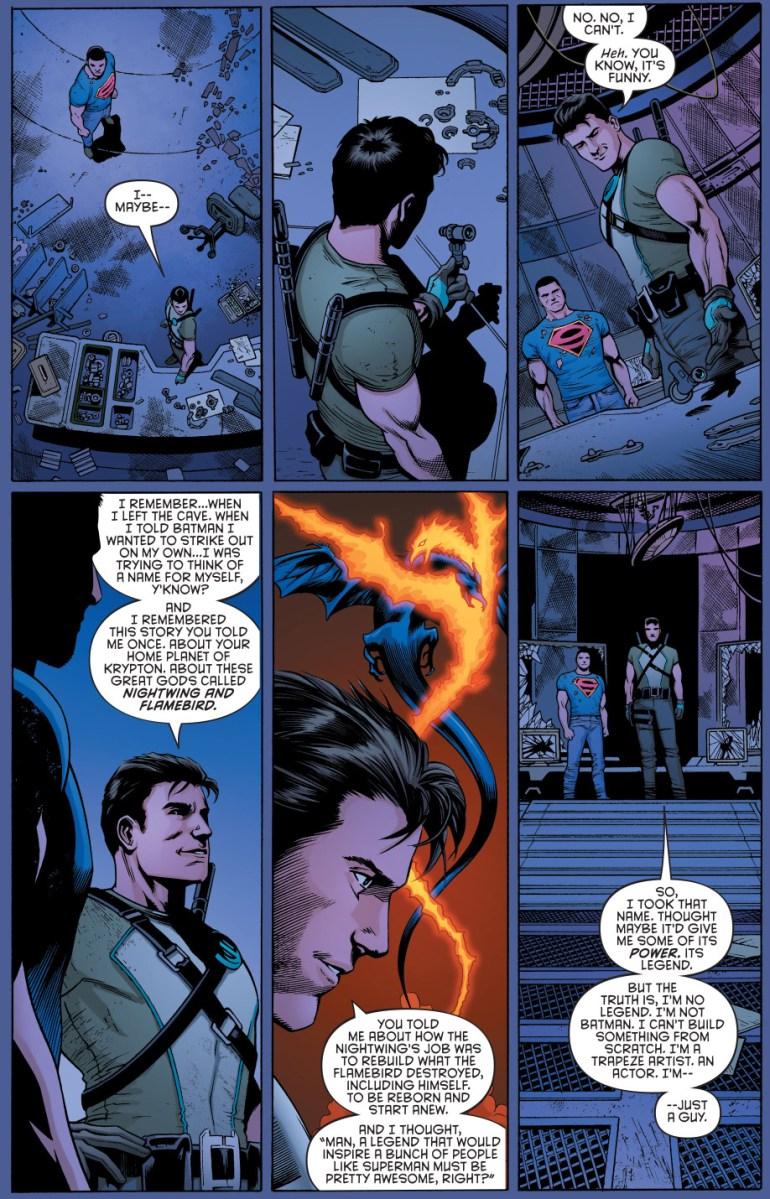 How Dick Grayson Chose The Nightwing Alias New 52 Comicnewbies