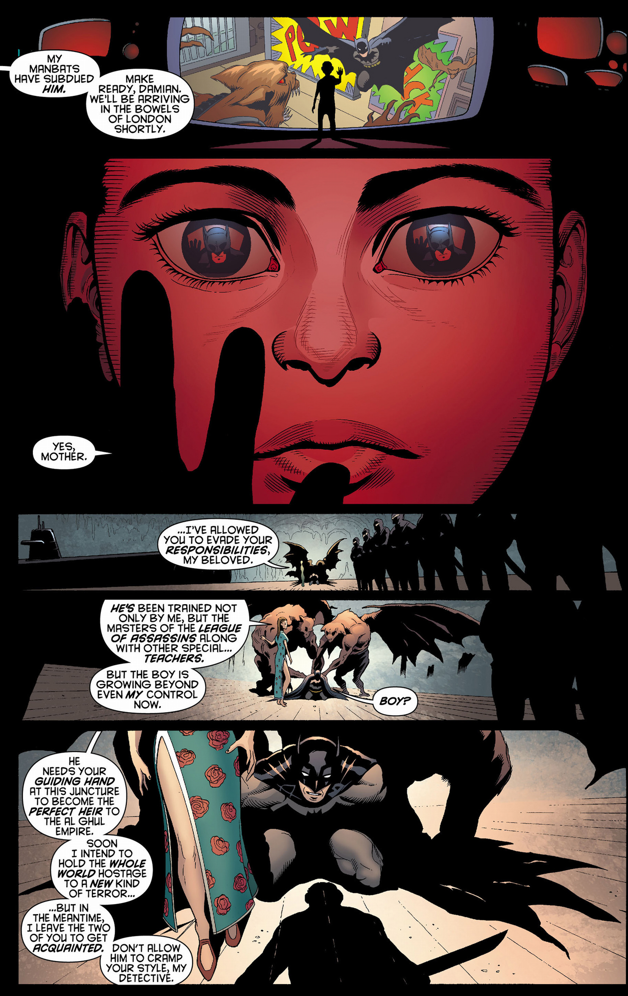 Yoda Wallpaper Quotes Damian Wayne S First Meeting With His Father Comicnewbies