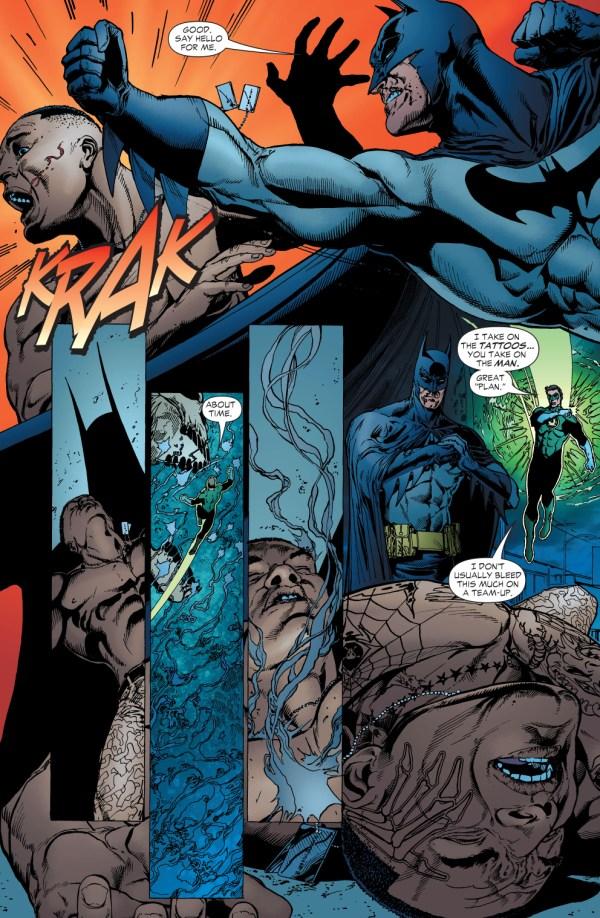 Batman And Green Lantern Tattooed Man Comicnewbies