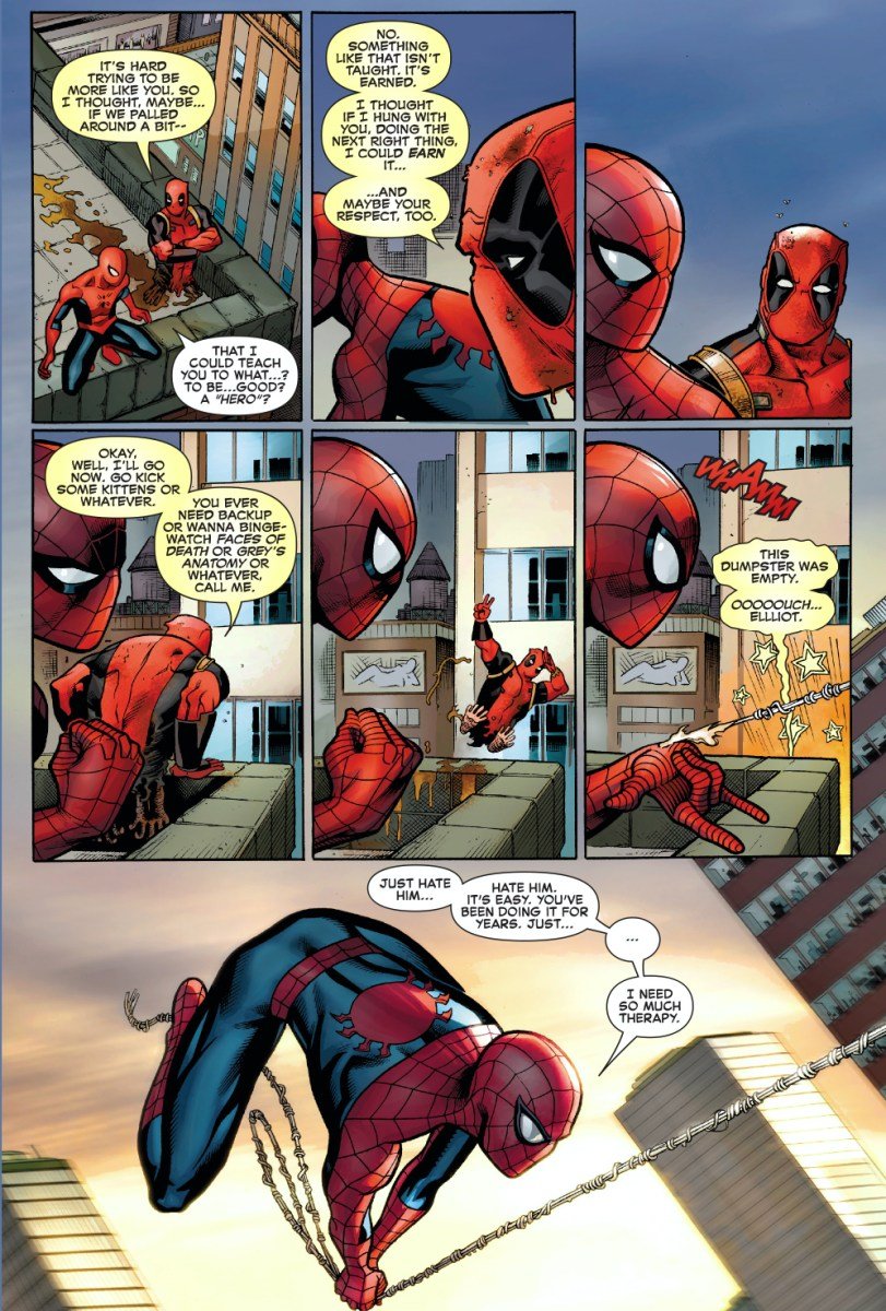 Why Deadpool Wants To Hang With SpiderMan  Comicnewbies