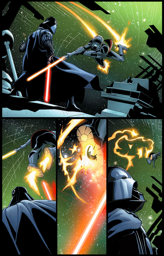 Darth Vader VS Morit Comicnewbies
