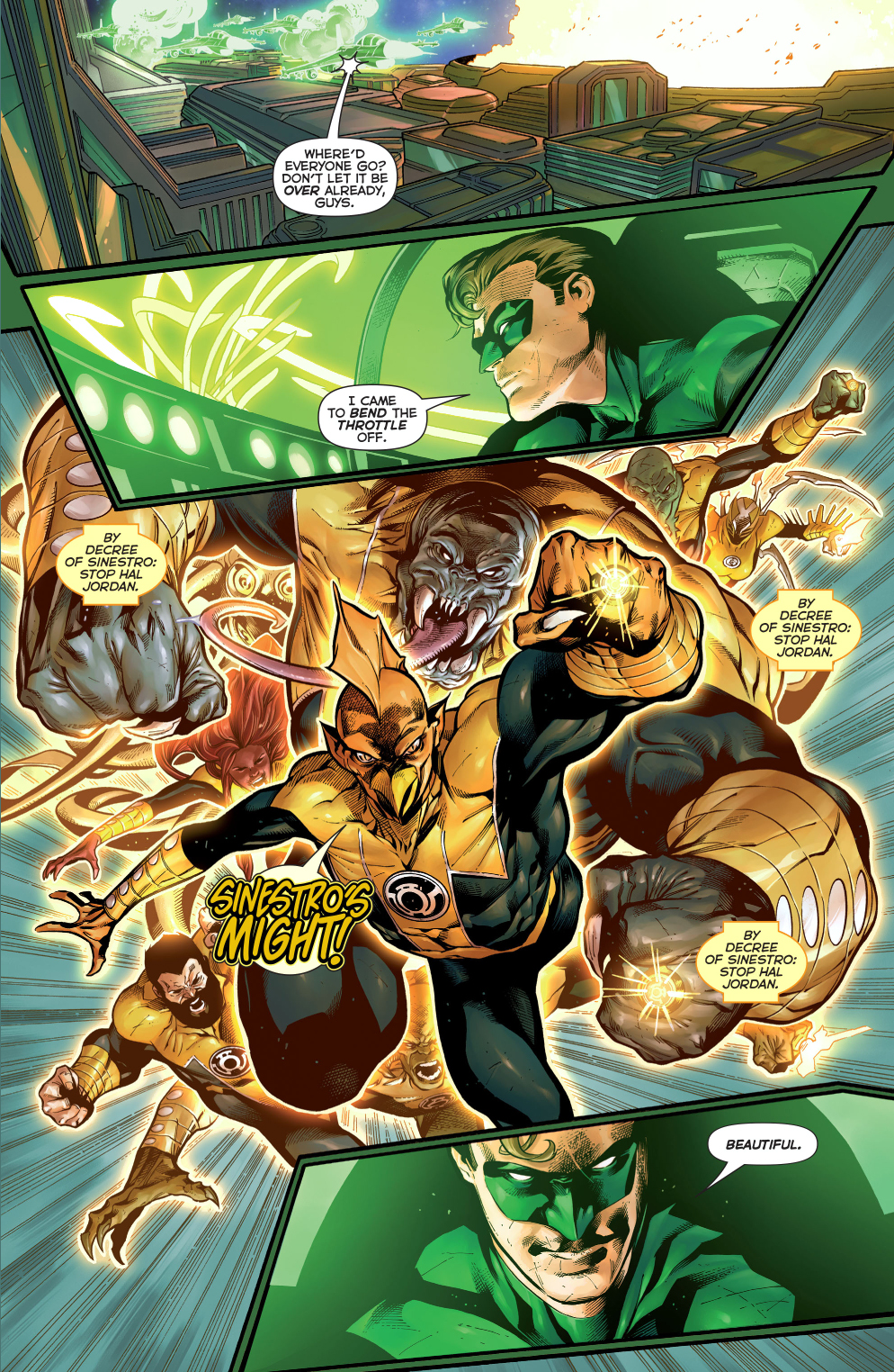 The Fear Engine Powers The Sinestro Corps Comicnewbies