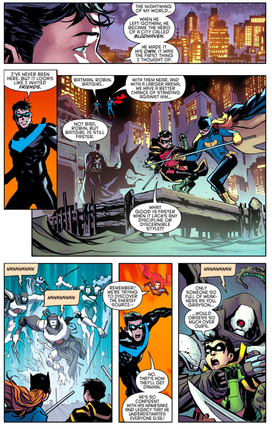 Nightwing And Superman VS Doctor Destiny Rebirth
