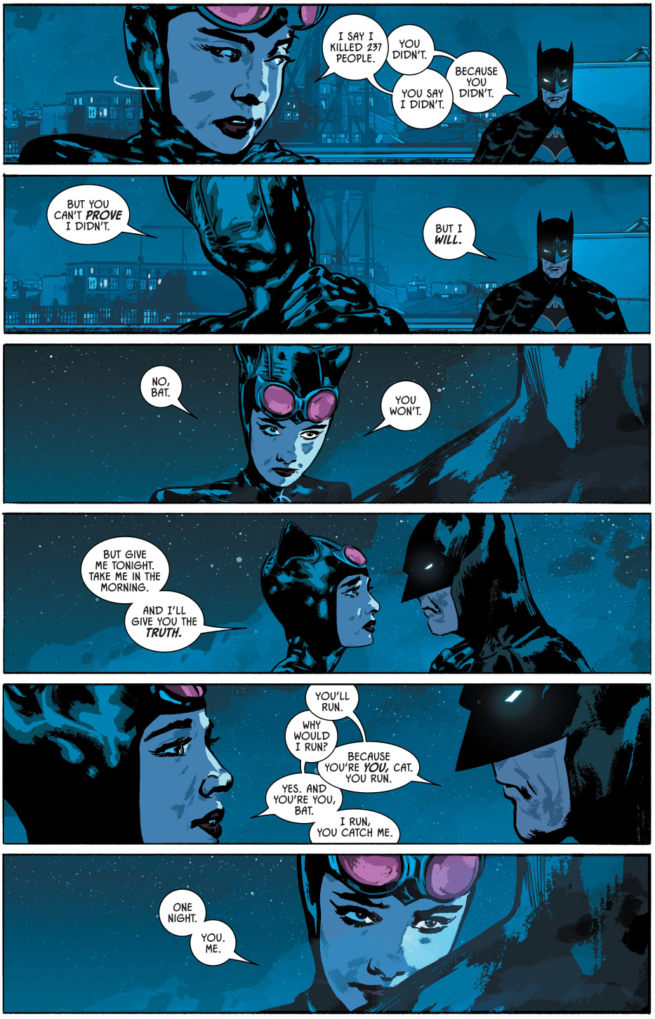 Catwoman Seduces Batman Rebirth Comicnewbies