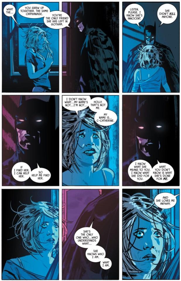 Holly Robinson Takes Down Batman Comicnewbies