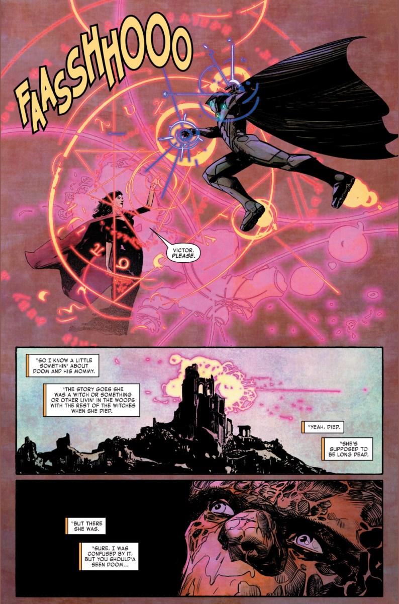 Infamous Iron Man VS Cynthia Von Doom Comicnewbies