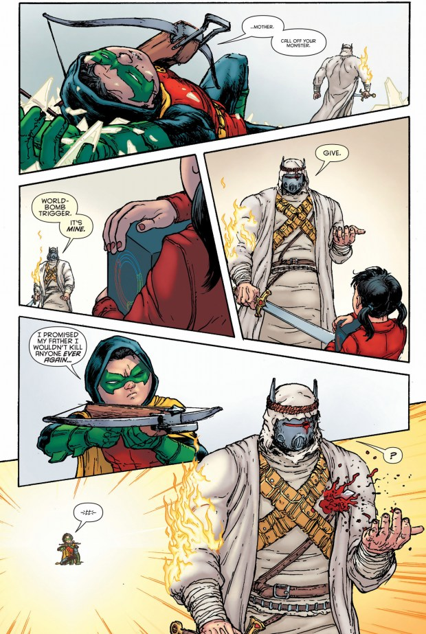 The Heretic Kills Robin Damian Wayne Comicnewbies