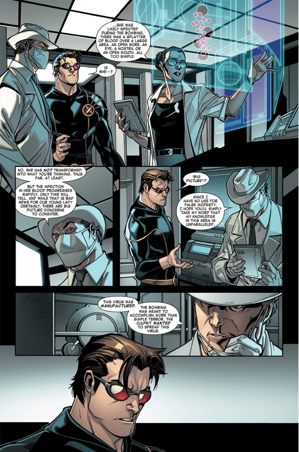 Jubilee Gets Infected By The Vampire Virus Comicnewbies