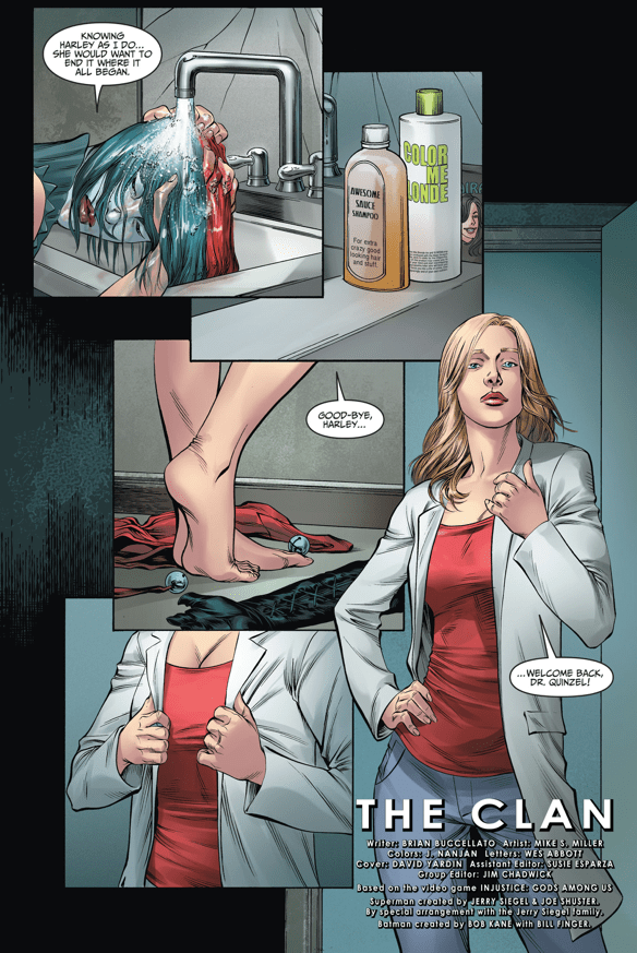 Harley Quinn As Doctor Harleen Quinzel Comicnewbies