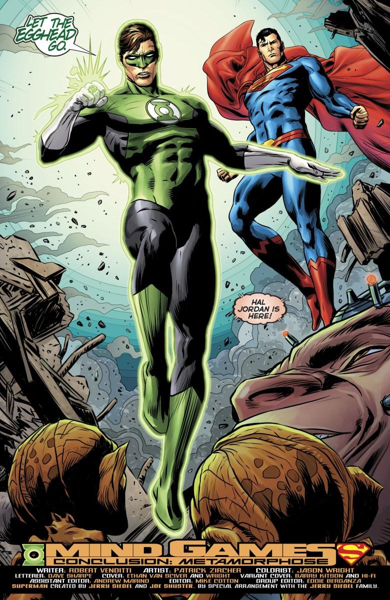 The Joker Quotes Wallpaper Hal Jordan Amp Superman Rebirth Comicnewbies