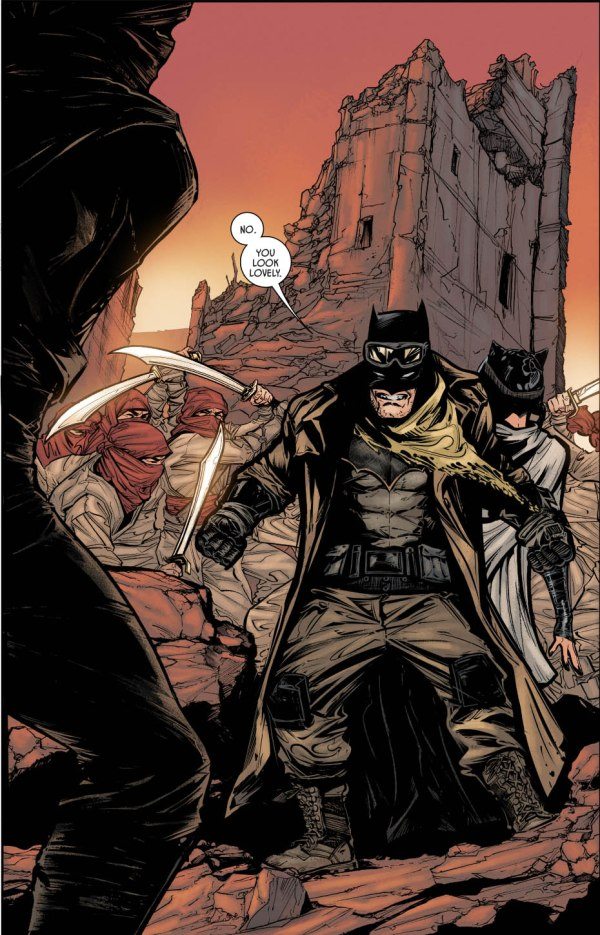 Batman And Catwoman Silent Soldiers Of Pit Comicnewbies