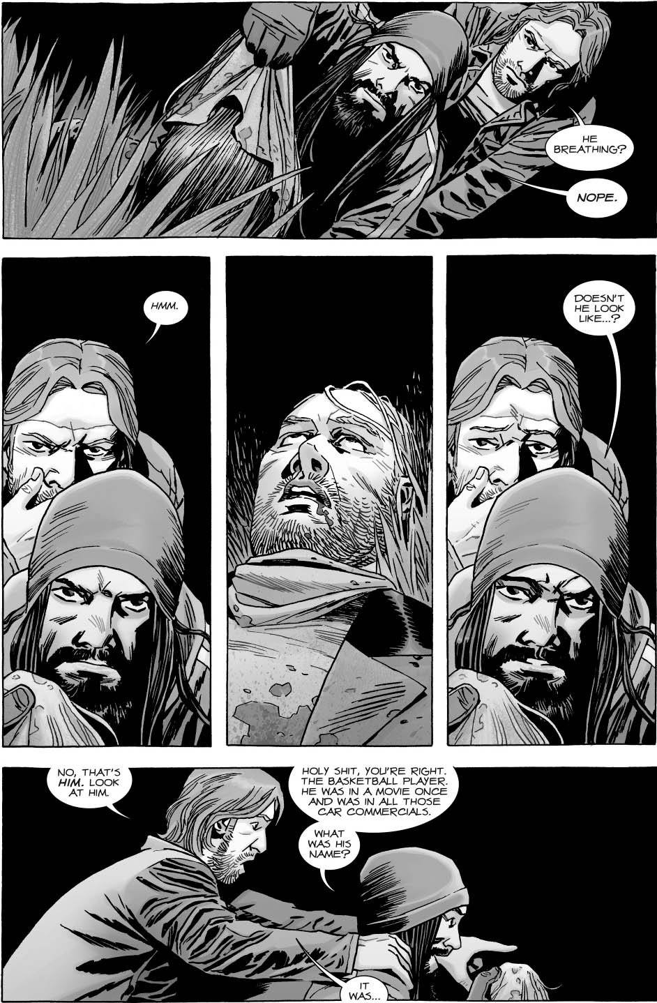 Betas Real Identity The Walking Dead  Comicnewbies