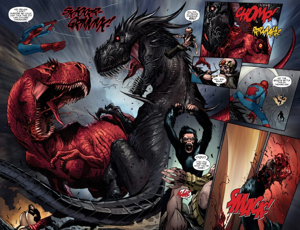 Hd Wallpapers 1080p Widescreen Quotes Devil Dinosaur Vs Demon Dinosaur Comicnewbies