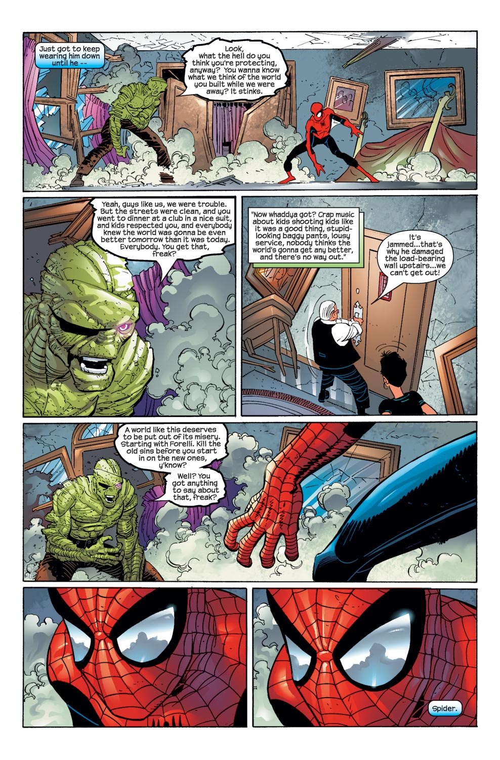 How SpiderMan Defeated Digger  Comicnewbies