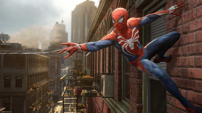 Spiderman game ps4