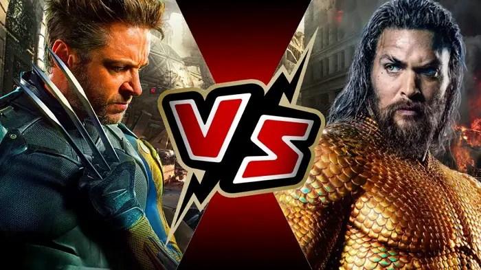 Wolverine VS Aquaman