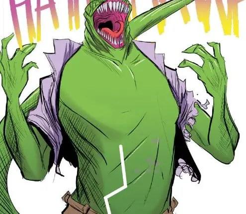 Peter Parker Lizard