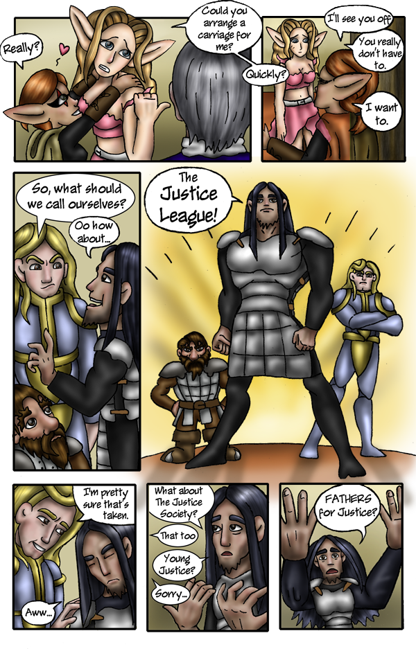 Pg 17: Too much Justice