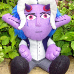 Yoru / Demon Plushie - Sitting