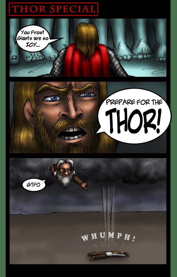 SPECIAL: Thor's Punishment