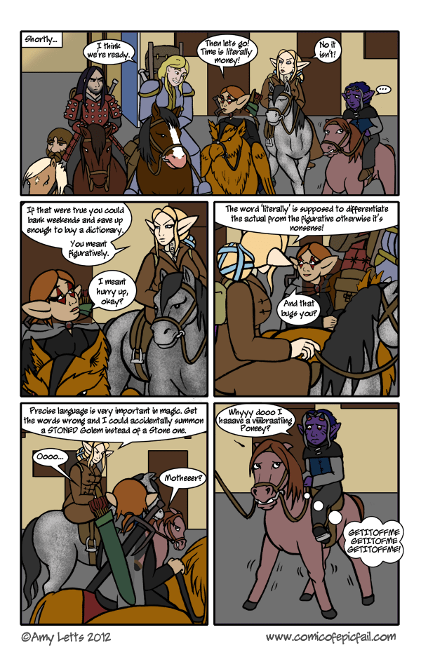 Pg 62: Literally Figuratively Speaking