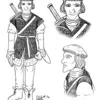 Character Design: Lan