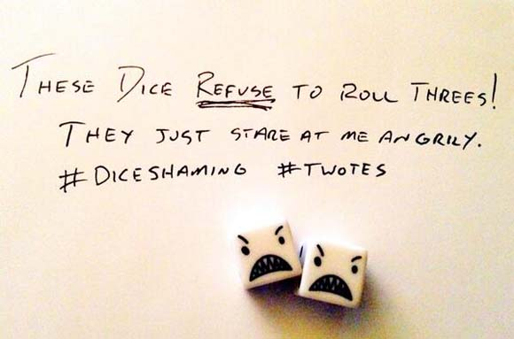 Dice Shaming: The Geeky trend that's catching on.