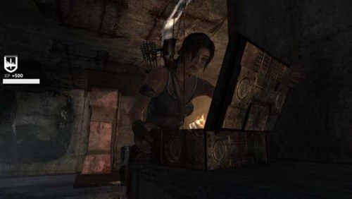 tomb raider 2013 finding artifact