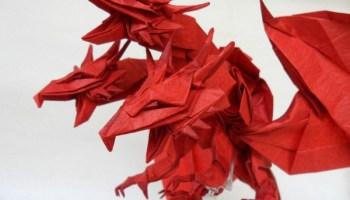 10 More Amazing Origami Dragons