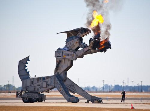 animatornic dragons robot dragon Robosaurus