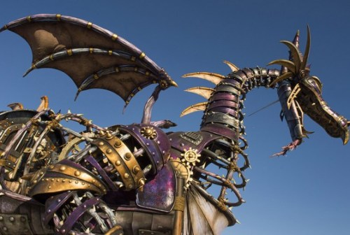 animatronic-dragon-Maleficent-steampunk