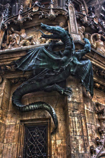 dragon architecture Wurmeck