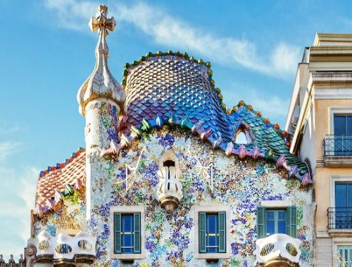 dragon casa batllo gaudi barcelona