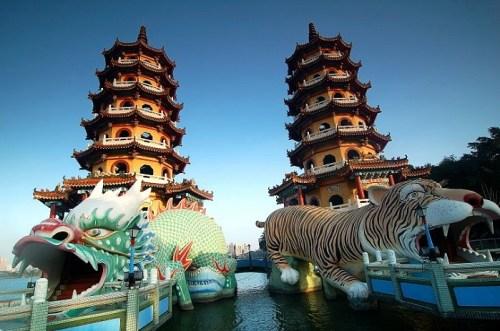 lotus pond temples
