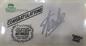 Stan Lee Signed No Prize