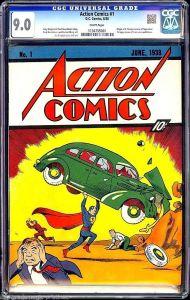 Action Comics #1 CGC 9.0