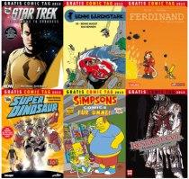 Der Gratis Comic Tag 2013 Teil 1 von 4