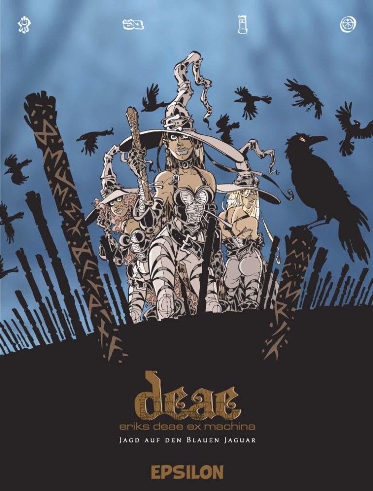 CRFF075 – Deae ex machina: Jagd auf den Blauen Jaguar