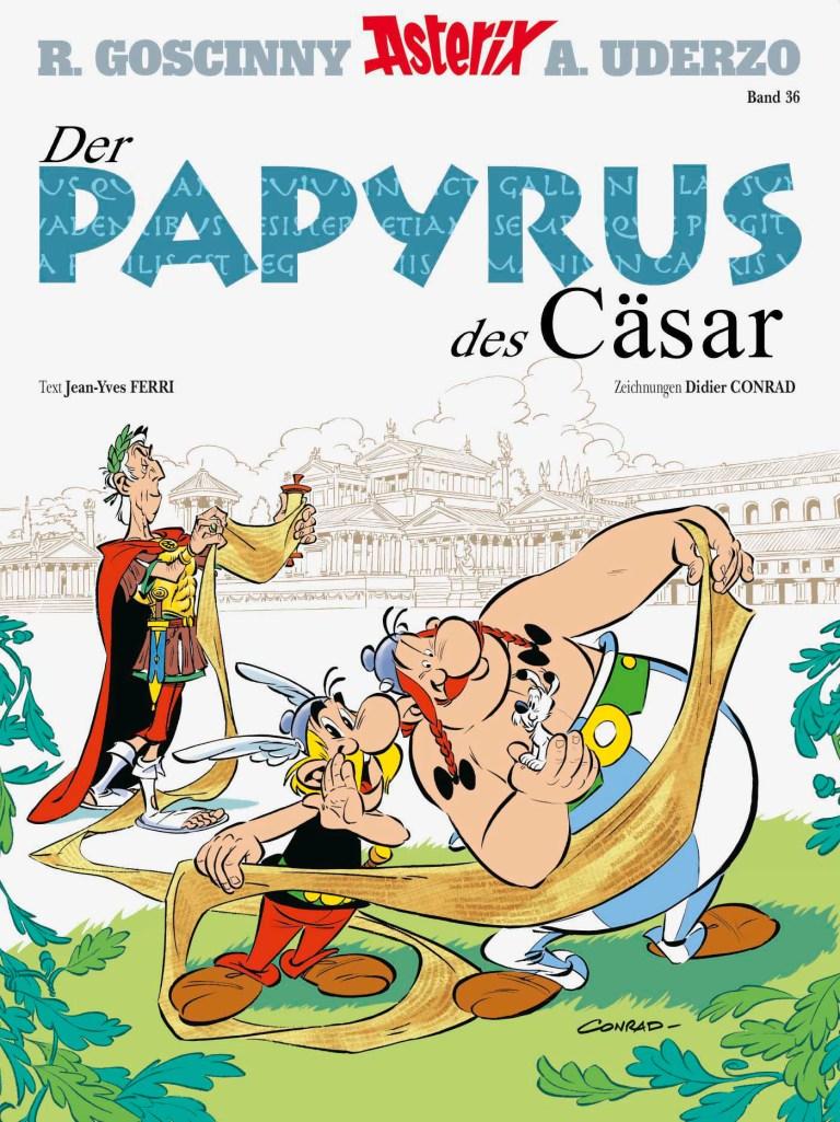 CRFF171 –  Asterix 36: Der Papyrus des Cäsar